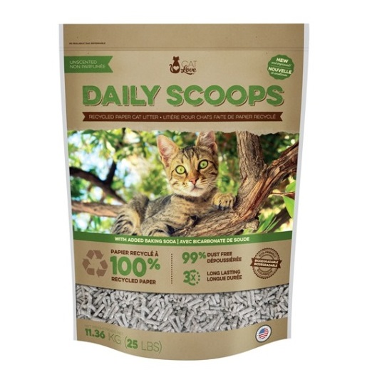 Daily Scoops Paper Litter 5,45 Kg