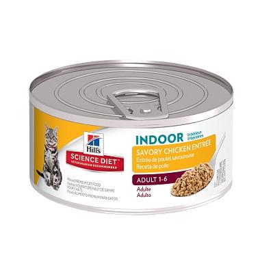 Savory Chicken Entreé Indoor Adult 1-6 156 gr