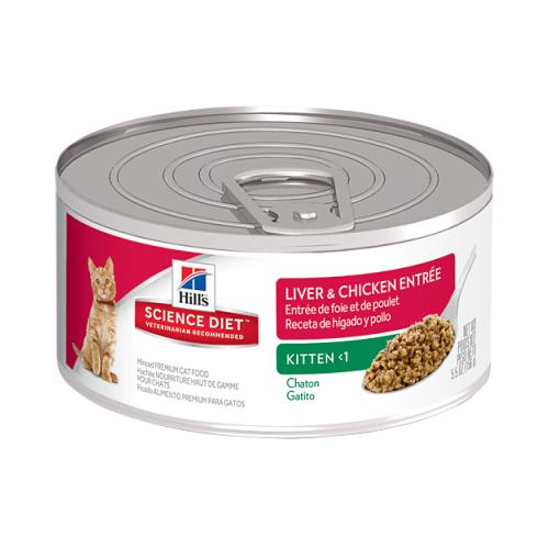 Kitten <1 Liver & Chicken Entreé 156 gr