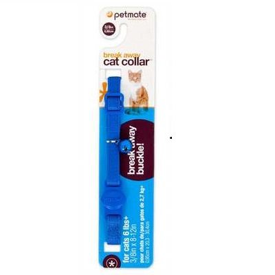 Break Away Cat Collar Blue