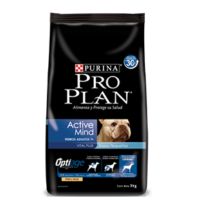 Adult Active Mind 7+ Small Breed 3 Kg
