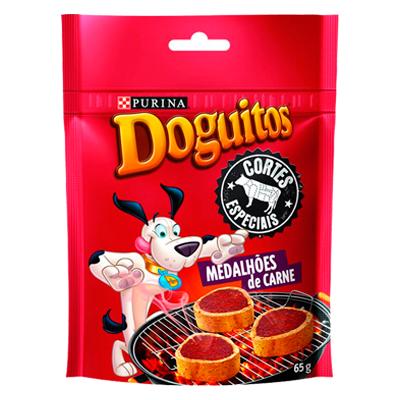 Doguitos Medallones de Carne 65 gr
