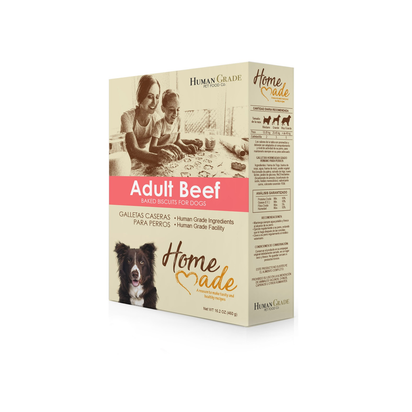 Adult Beef Baked Biscuits 460 gr