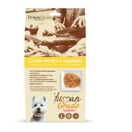 Alimento Humedo Pouch Pollo & Arroz