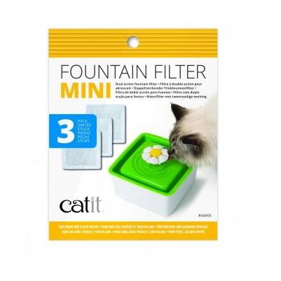 Filtro Fuente bebedera Mini 3 unid.
