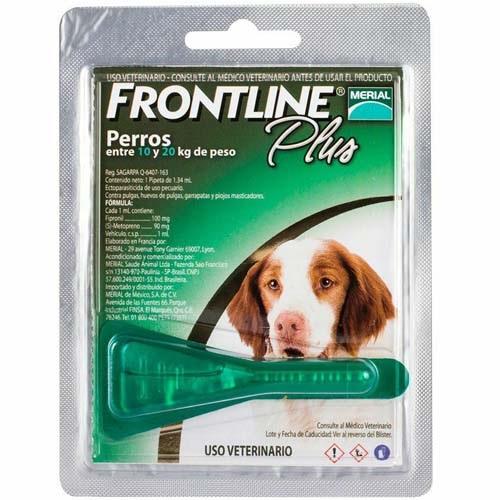 Frontline Plus Perros 1,34 ml desde 10 a 20 Kg