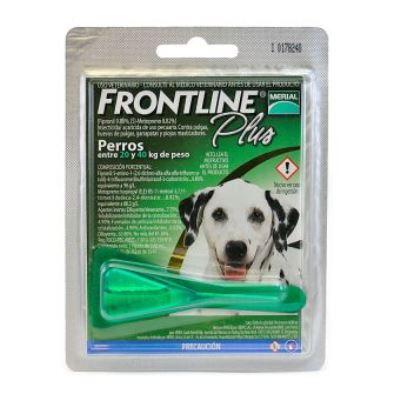 Frontline Plus Perros 2,68 ml desde 20 a 40 Kg
