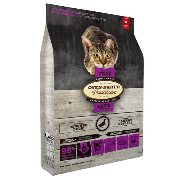 Grain-Free Fresh Deboned Duck for Cats 2,27 Kg