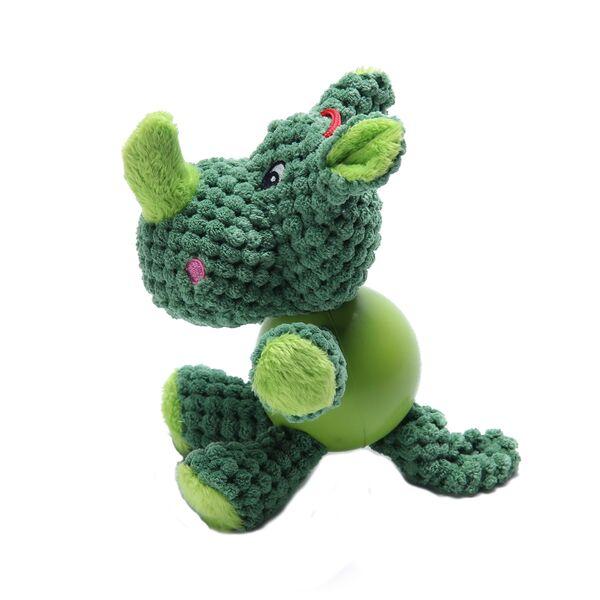 Animal Plush con Pelota Verde