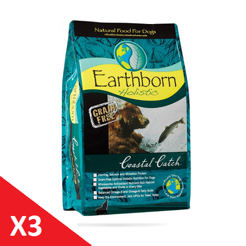 Pack x 3 Coastal Catch Grain Free 12 Kg