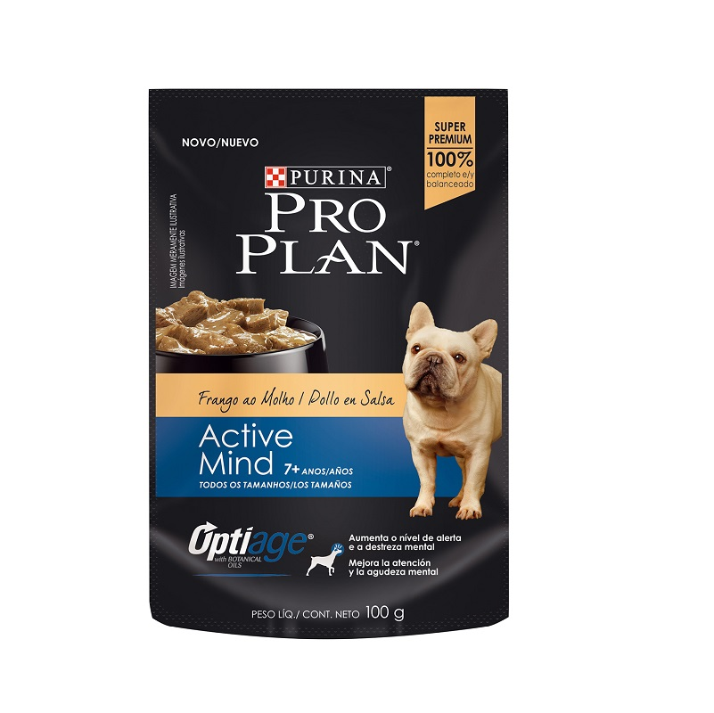 Pouch Adult Dog 7+ Active Mind