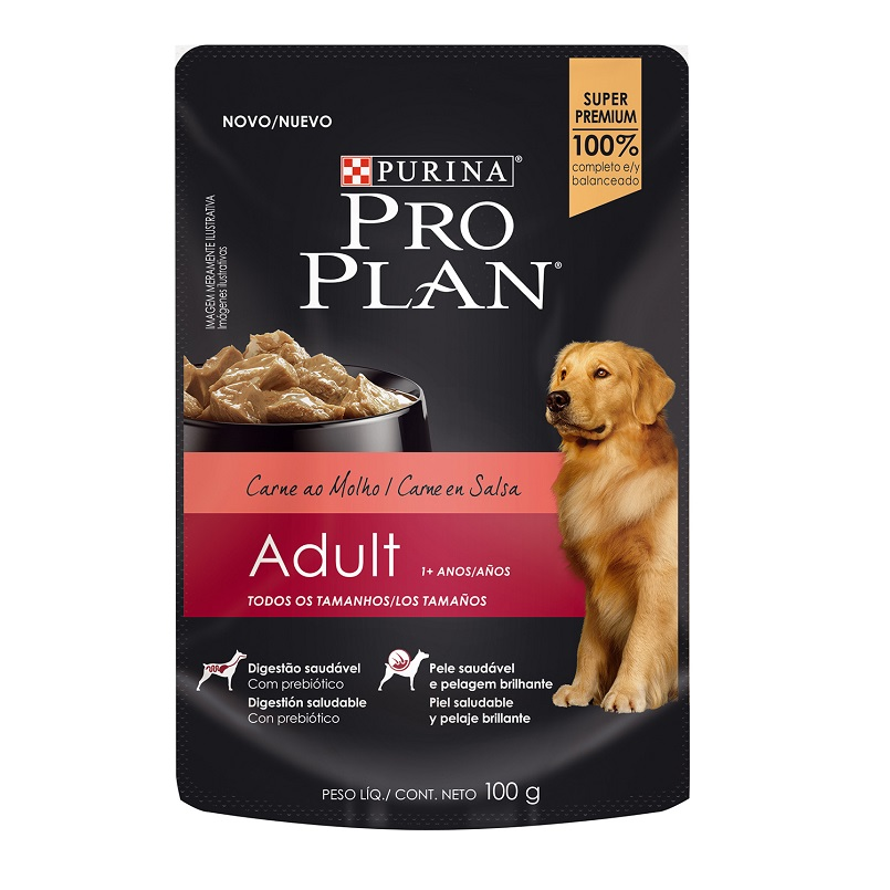 Pouch Adult Dog Carne